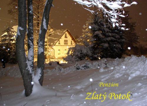 Foto - Ubytování ve Zlatém Potoku - Penzion Zlatý Potok