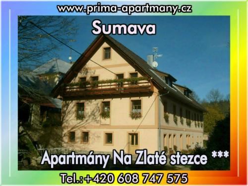 Foto - Ubytování  - Apartmány Na Zlaté stezce *** (Stožec - České Žleby)