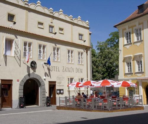 Foto - Ubytování v Českých Budějovicích - Hotel Zátkův dům