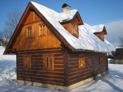 Foto - Ubytování v Jílovém u Držkova - Novostavba roubené chalupy v podkrkonoší k pronájmu